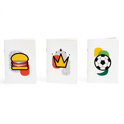 Kid Notebooks Trio-Homeware-HOUSE of BOTTA