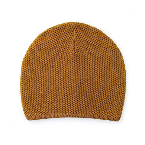 Reshaped Beanie Lambswool Terracotta