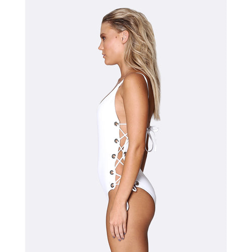 Lace Up One Piece-ALLERTON-HOUSE of BOTTA