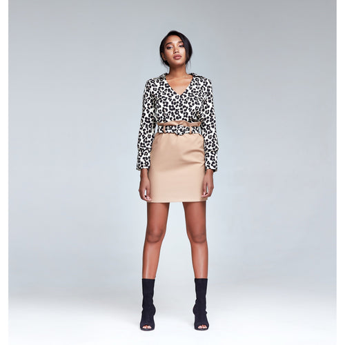 Leopard Blouse-CAIVER-HOUSE of BOTTA