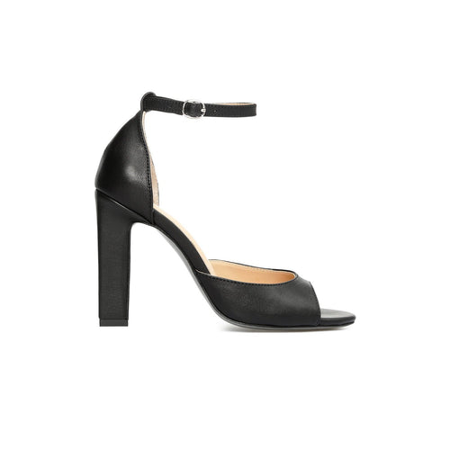 Mary Jane Black Heels-MARSALA-HOUSE of BOTTA