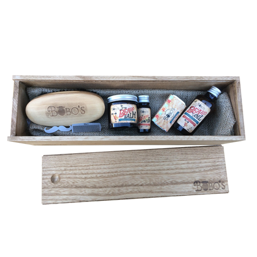 Men's Complete Grooming Gift Set-Bobo's Beard Company-HOUSE of BOTTA
