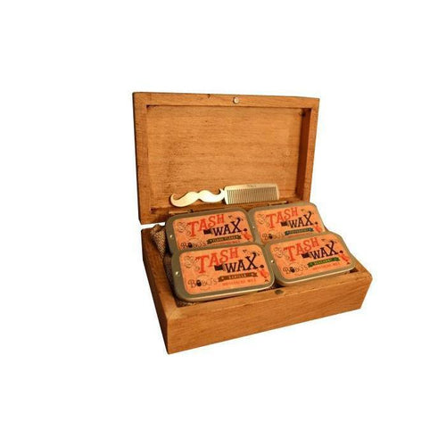 Moustache Grooming Gift Set-Bobo's Beard Company-HOUSE of BOTTA