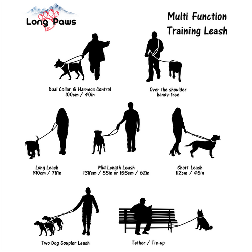 Multifunction Training Lead-Pets-HOUSE of BOTTA