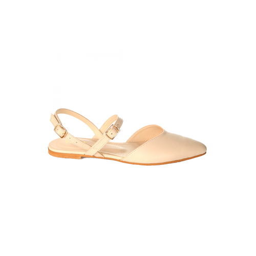Nude Leather Ballets-VONA-HOUSE of BOTTA