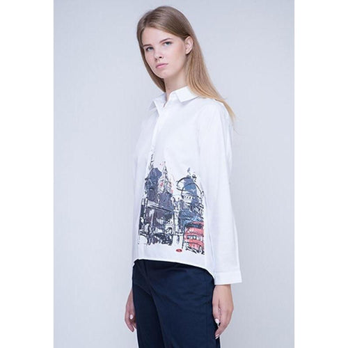 Oversize Shirt-INSIDEU-HOUSE of BOTTA