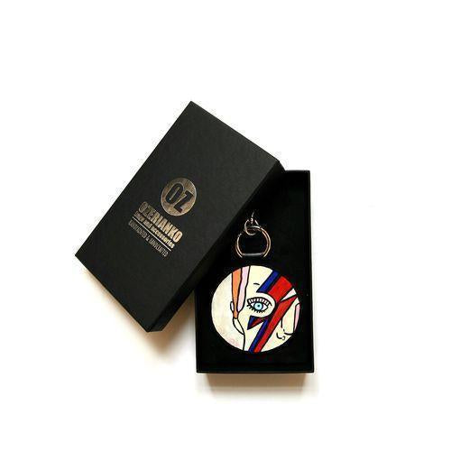Oz Keyring 'Ziggy Stardust'-OZERIANKO-HOUSE of BOTTA