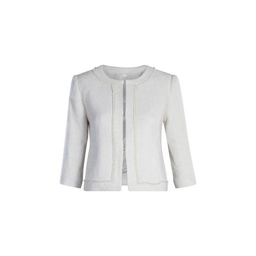 Palm Beach Blazer in Pearl-Charlotte London-HOUSE of BOTTA