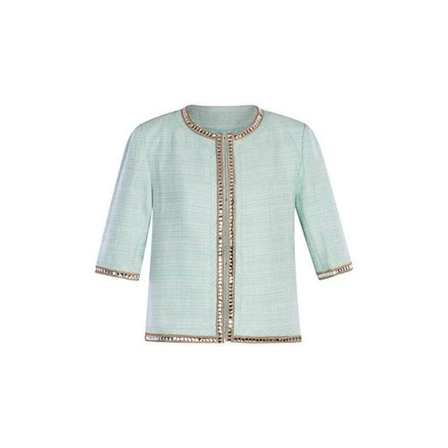 Palm Beach Blazer in Soft Green-Charlotte London-HOUSE of BOTTA