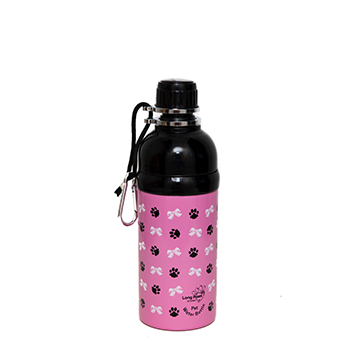 Princess Pink Pet Water Bottle 500ml-Pets-HOUSE of BOTTA
