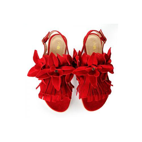 Red Sandals-VONA-HOUSE of BOTTA