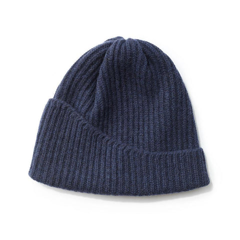 Reshaped Beanie Lambswool Hunter Green