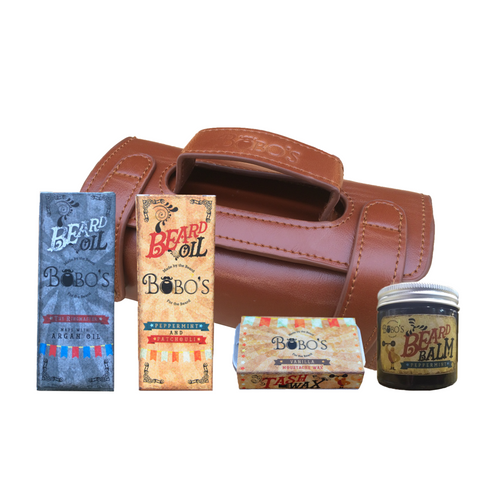 Ringmaster Beard and Tash Gift Set-Bobo's Beard Company-HOUSE of BOTTA
