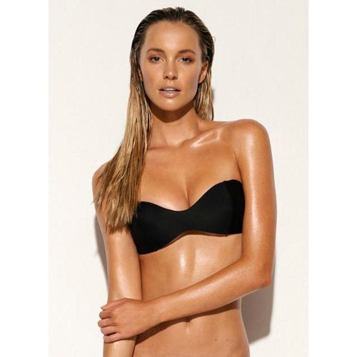 Scuba Bandeau Bra Black-ALLERTON-HOUSE of BOTTA