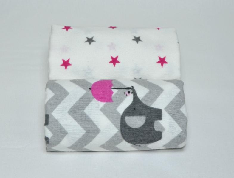 Set of Flannel Swaddle Blankets-Kids-HOUSE of BOTTA