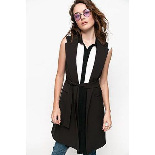 Sleeveless Blazer 'Where Are My Sleeves Baby?'-OVER THE SEA-HOUSE of BOTTA