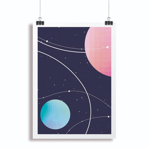 Space Poster-Homeware-HOUSE of BOTTA