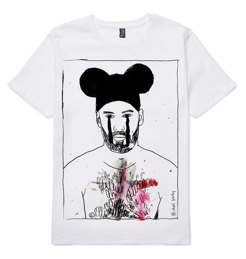 Tear Bear T-shirt-Men-HOUSE of BOTTA