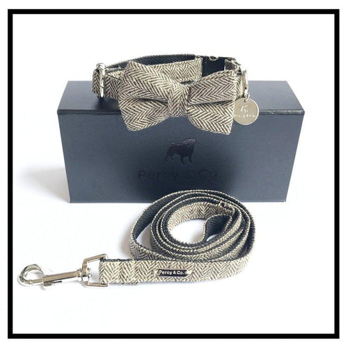 The Beaufort Bow Tie and Lead Set-Pets-HOUSE of BOTTA