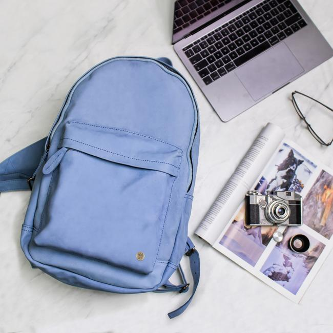The Classic Backpack Suede-Women-HOUSE of BOTTA