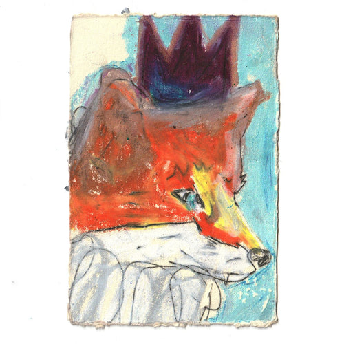 The Fox Prince, Original Work on Paper-Homeware-HOUSE of BOTTA