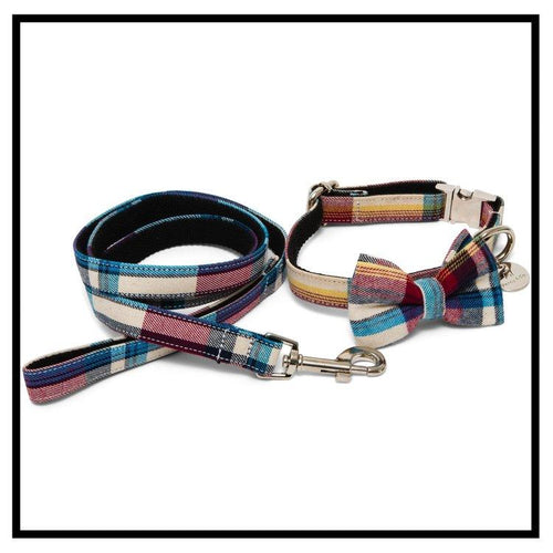 The Marple Bow Tie and Lead Set-Pets-HOUSE of BOTTA