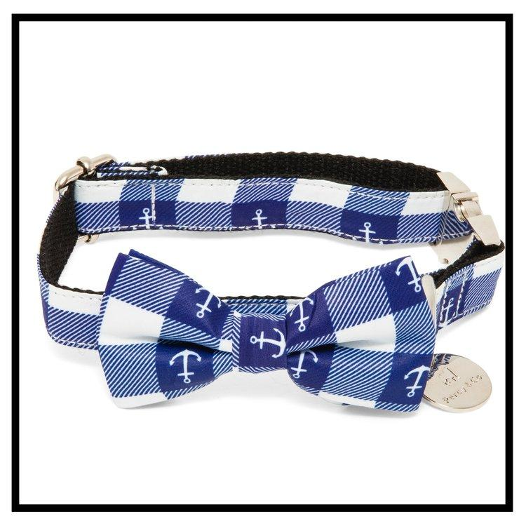 The New Anglesey Bow Tie Collar and Lead Set-Pets-HOUSE of BOTTA