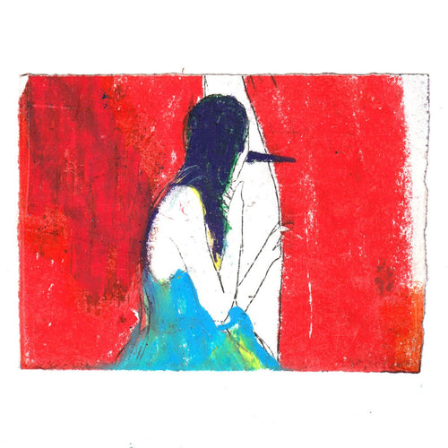 The Voyeur, Original Work on Paper-Homeware-HOUSE of BOTTA