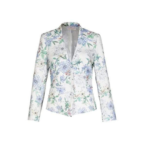 Tokyo Blazer in Blue Lily-Charlotte London-HOUSE of BOTTA