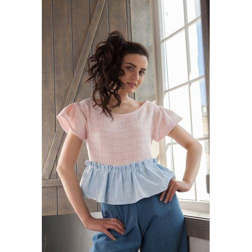 Top Baby Doll Frill-Logic Clothes-HOUSE of BOTTA