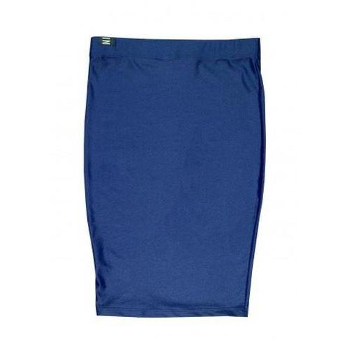 Tube Navy Lycra Skirt-NINII-HOUSE of BOTTA