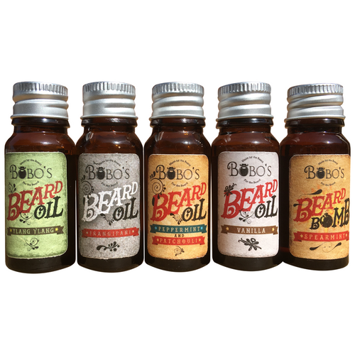 Ultimate Beard Oil 5 Pack-Bobo's Beard Company-HOUSE of BOTTA