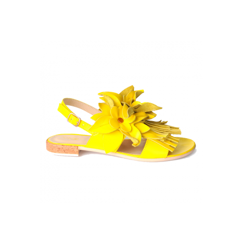 Yellow Sandals-VONA-HOUSE of BOTTA