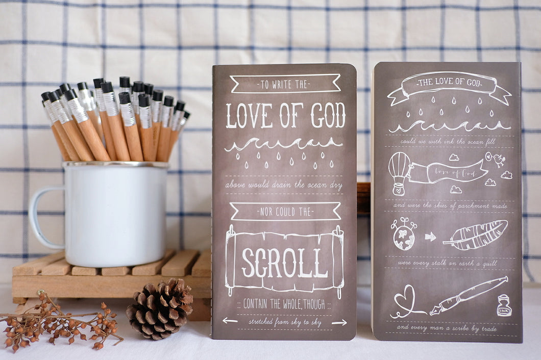 Write of God's Love Notebook