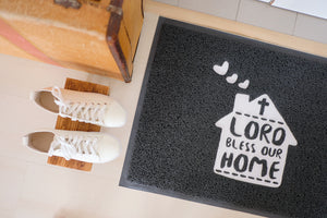 A Blessed Home Mat