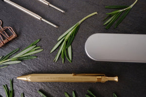 Write of God's Love Brass Pen