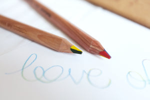 Write of God's Love Colour Pencil