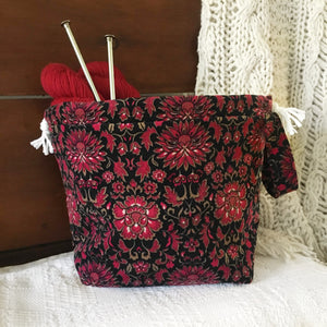 A Time to Remember Drawstring Project Bag