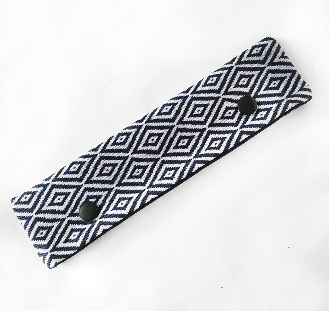 Black & White Diamond DPN Holder or Cozie