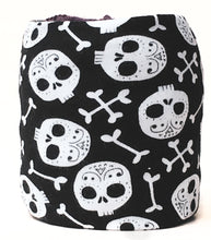 Halloween Sugar Skulls Skein Coat for Knitting & Crochet