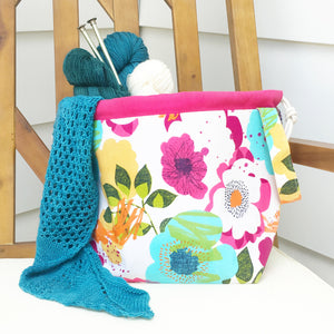 Bold & the Beautiful Drawstring Project Bag