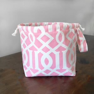 Bubblegum Pink Jumper Drawstring Project Bag