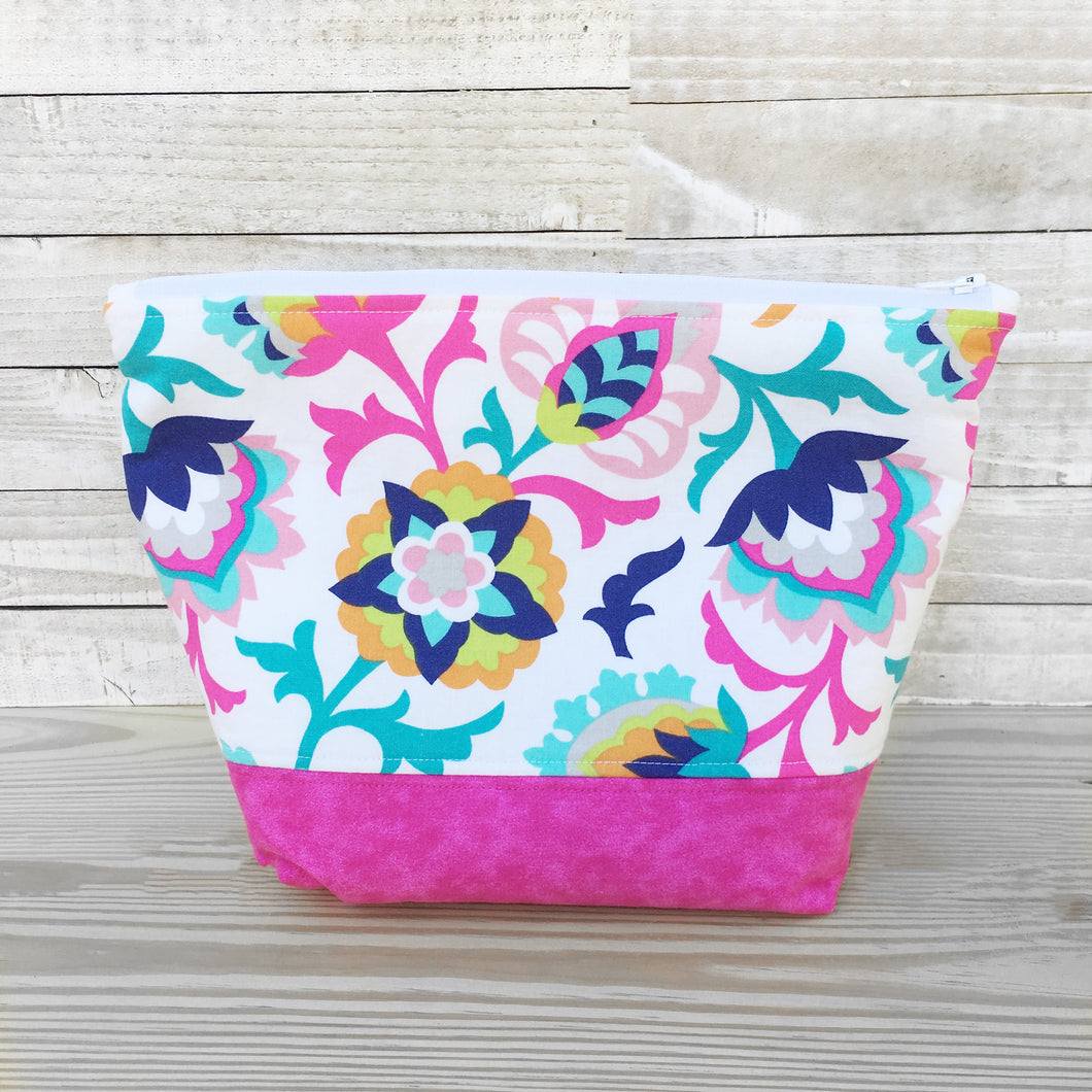 Carnival Zippered Project Bag