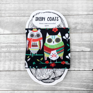 Christmas Owls Skein Coat