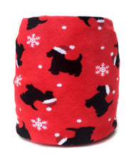Christmas Scottie Dog Skein Coat
