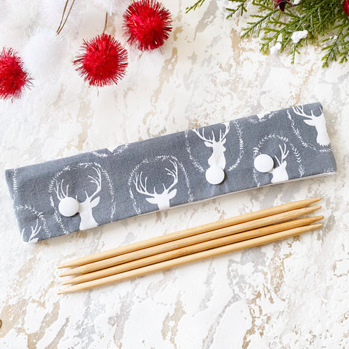Gray & White Deer DPN Keeper