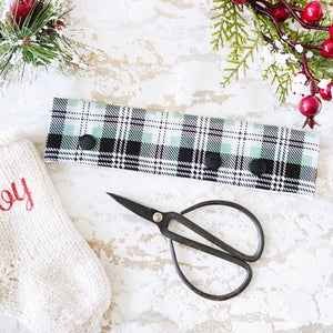 Christmas Green Plaid DPN Keeper