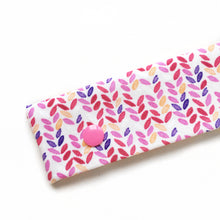 Pink Knit Stitch Printed DPN Keeper