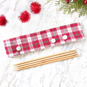 Christmas Red Plaid DPN Keeper