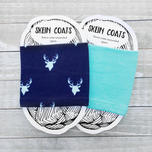 Navy Blue Deer Yarn Holder & Organizer